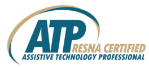 image of Rehabilitation Engineering and Assistive Technology Society of North America logo
